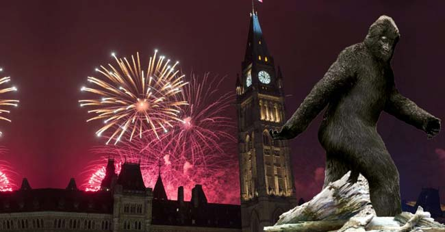Canada celebrates its Sesquicentennial