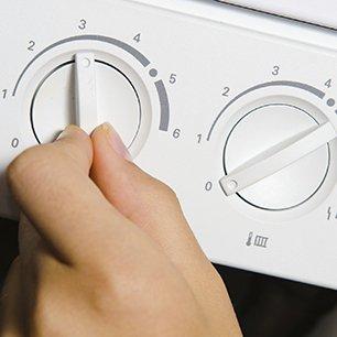turning the knob