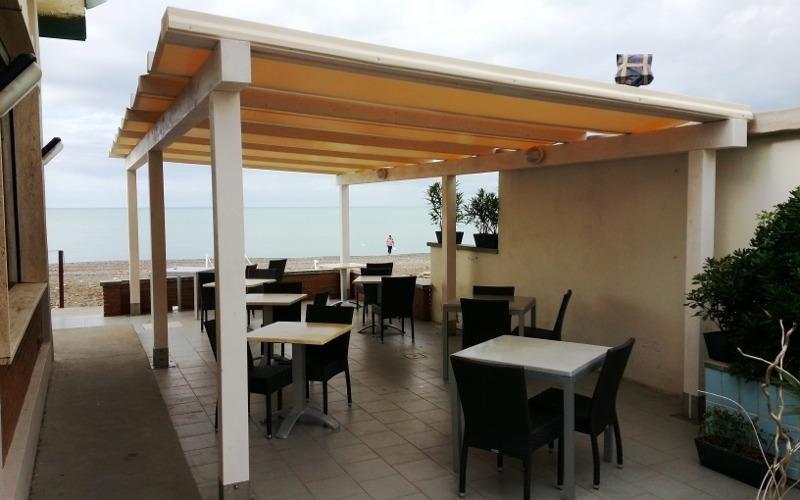Realizzazione Veranda per ristorante