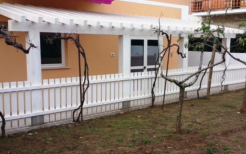 Veranda in legno su misura