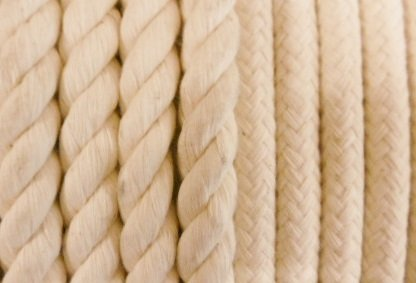 delle corde viste da vicino