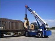 camion per trasporti ferroviari