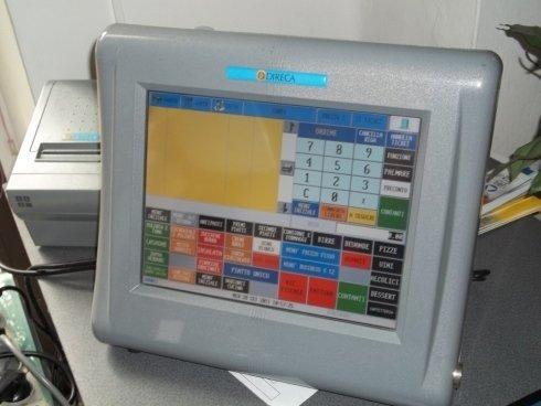 Cassa per negozio con tecnologia touch screen