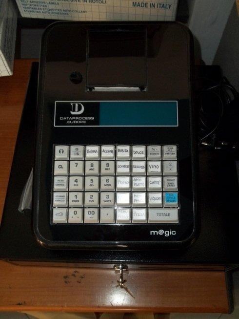 Un modello di registratori di cassa
