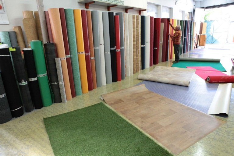 pavimenti PVC