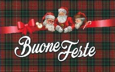 Tappeto natalizio scozzese Lusa Renzo Pavimenti