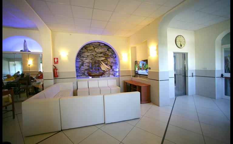 interno sala ricreativa