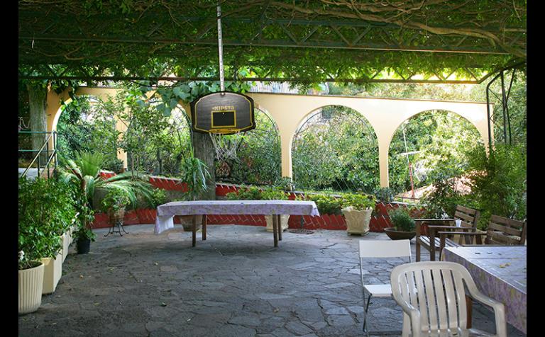 spazio ricreativo esterno