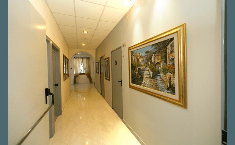 corridoi residenza villa chiara