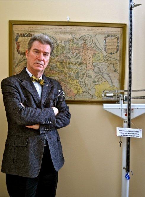 Dottor Roviglio, esperto in scienze alimentari