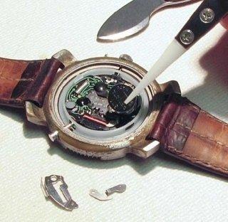 Cambio batterie orologi