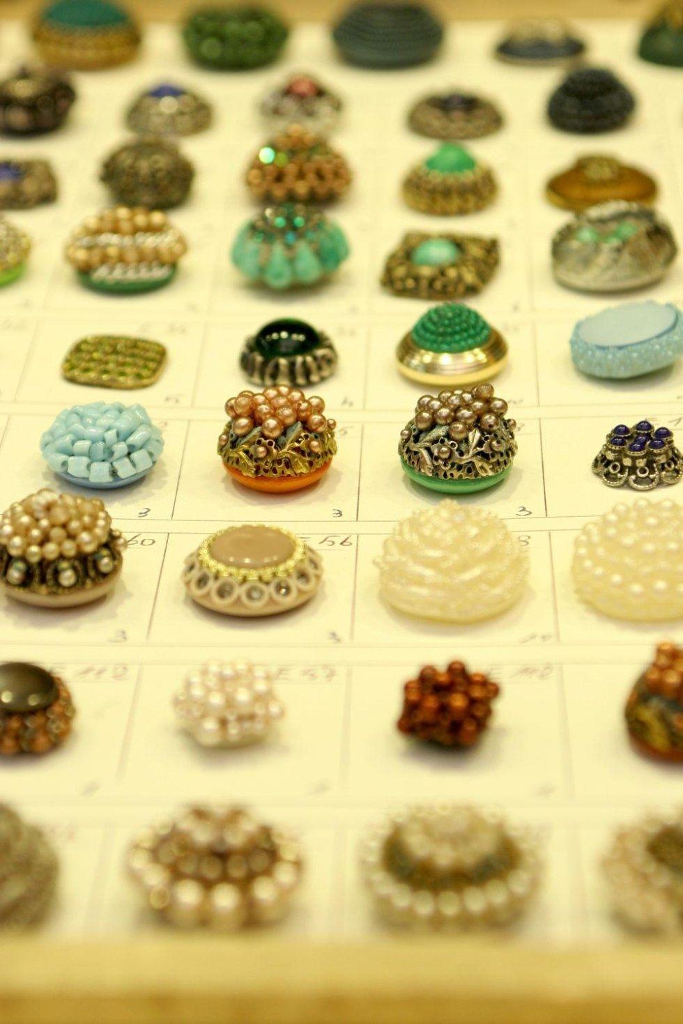 Bottoni con perline