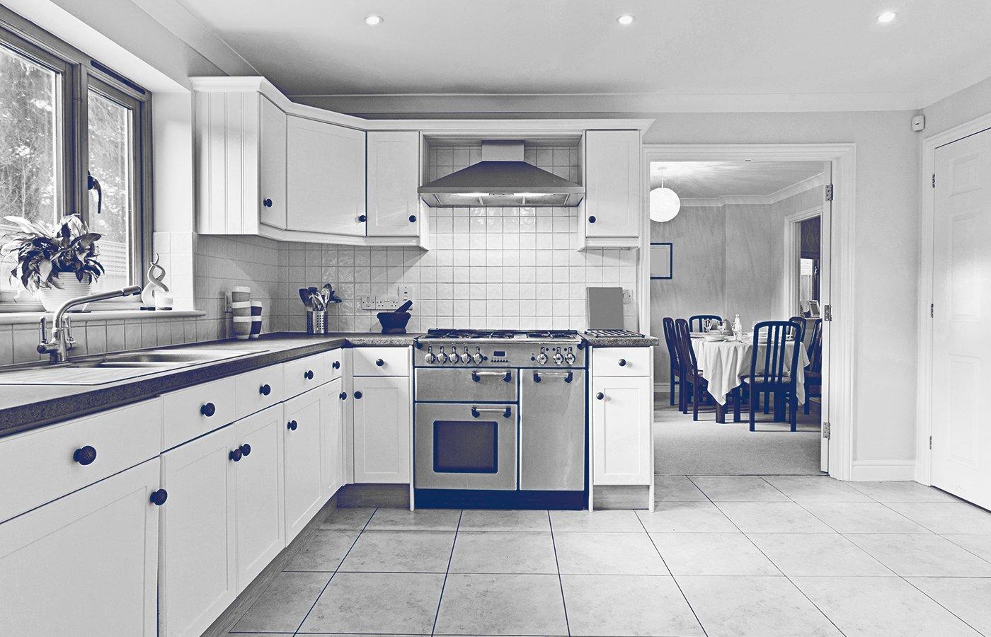 Luxury interior kitchen