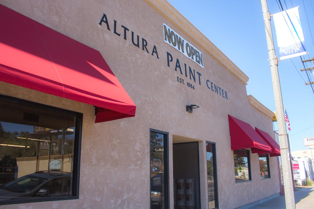 altura paint center exterior
