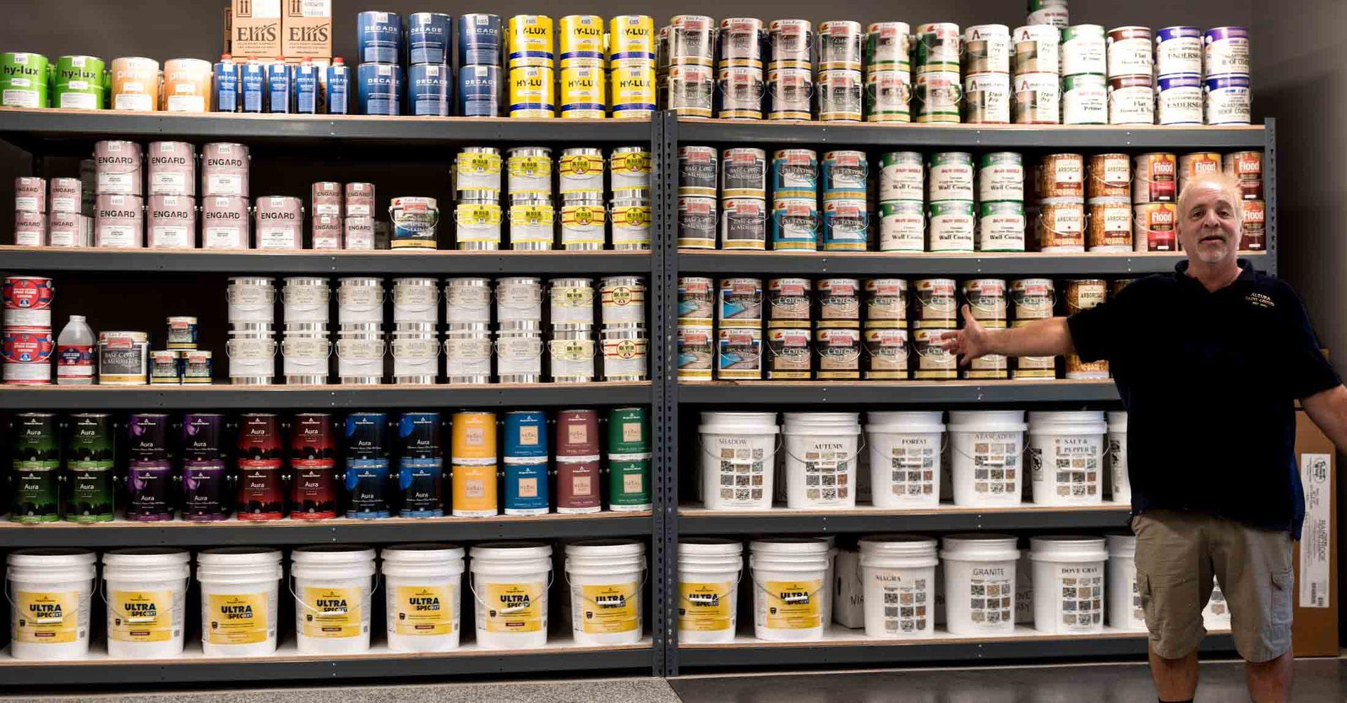 altura paint product selection