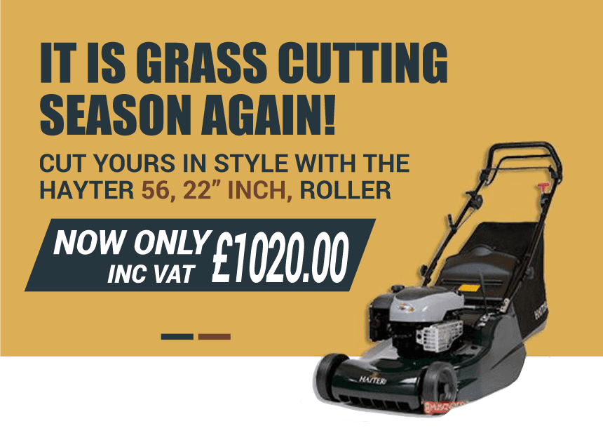 Seasonal walk behind mower offer