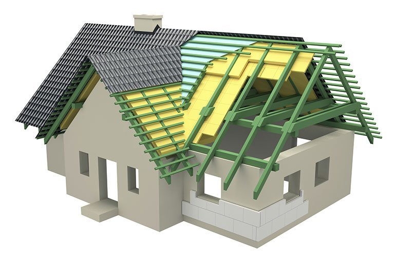 Perth Insulation - House diagram