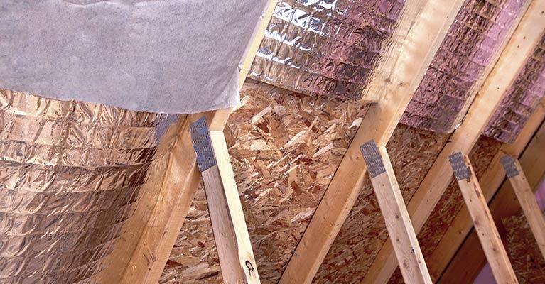 Perth Insulation - Permastop Roof Blanket Installation