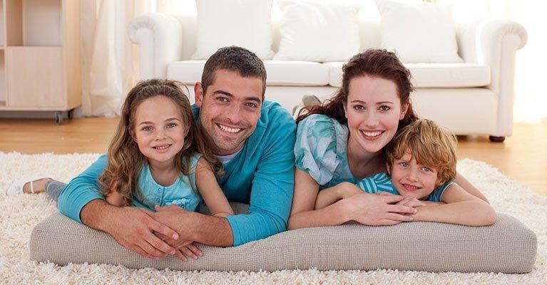 Perth Insulation - Family enjoying Earthwool insulation