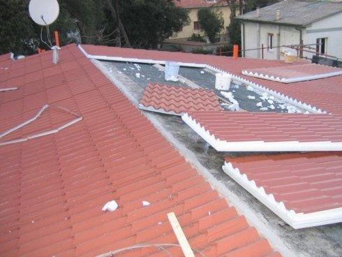 Realizzazione tetto a Pontedera