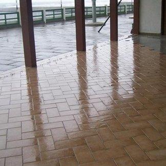 Realizzazione di pavimentazione a Tirrenia
