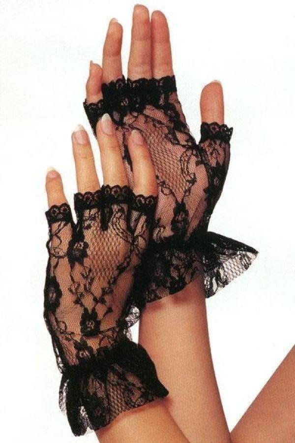 guanti in pizzo
