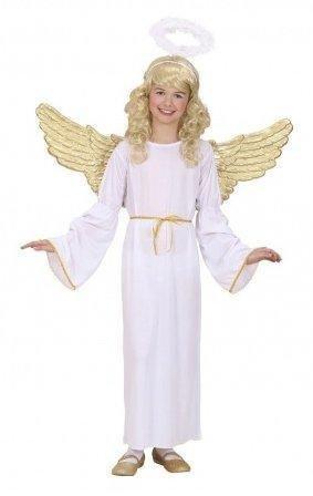 costume angelo dorato