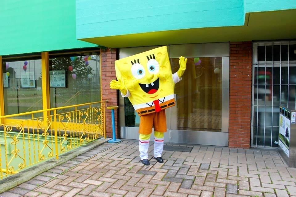 spongebob mascotte