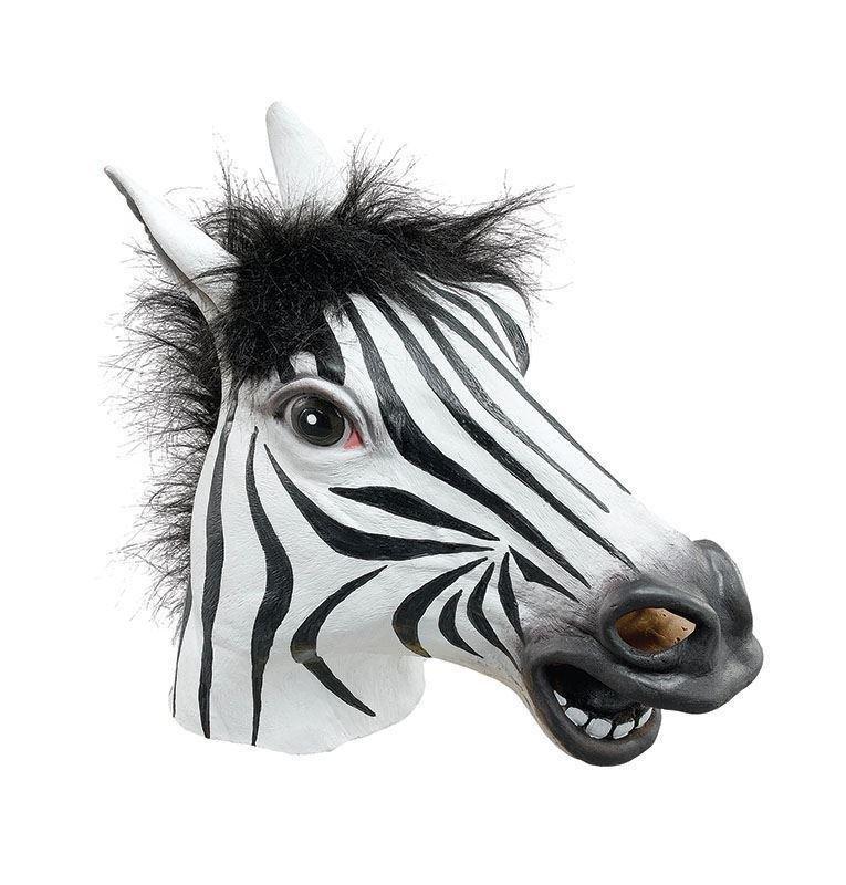 maschera zebra