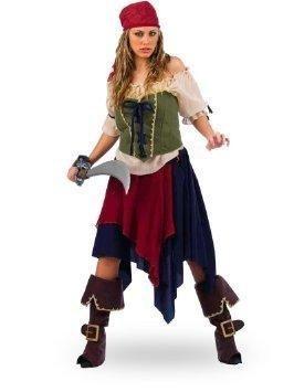costume da pirata donna