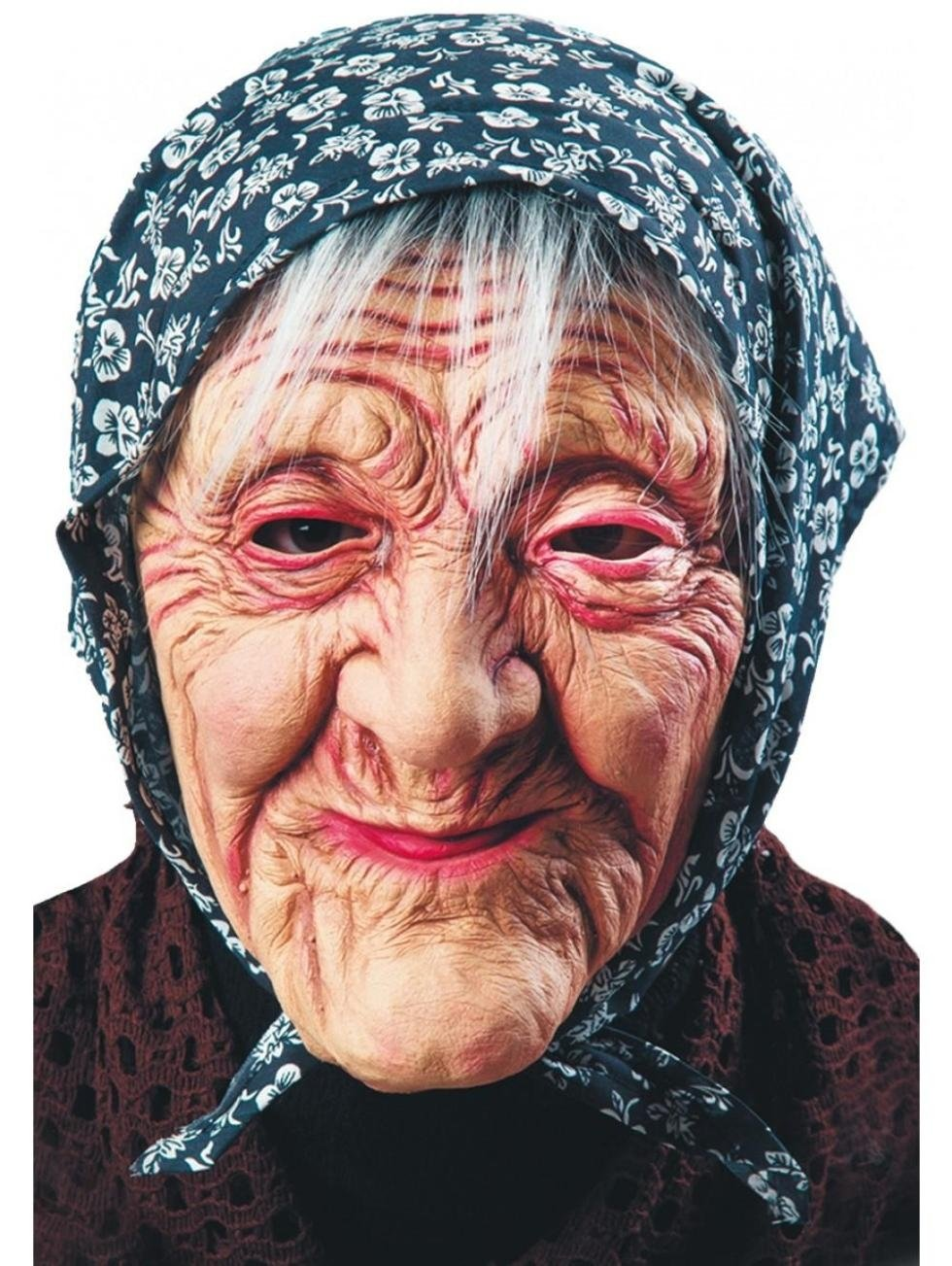 maschera vecchietto