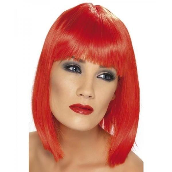 parrucca rossa halloween