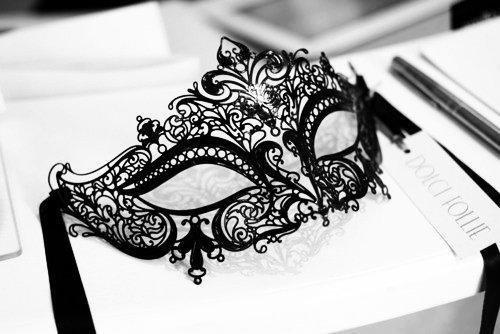 maschera elegante donna