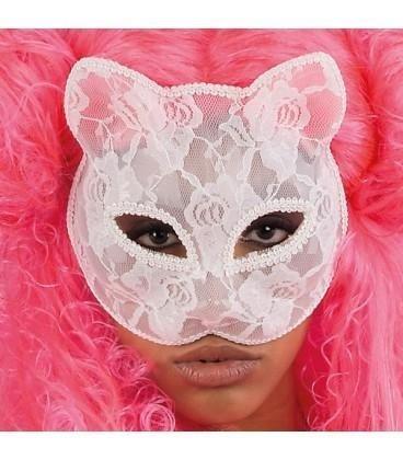 maschera gatto pizzo