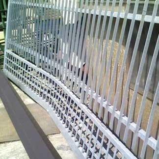 Ringhiera in alluminio