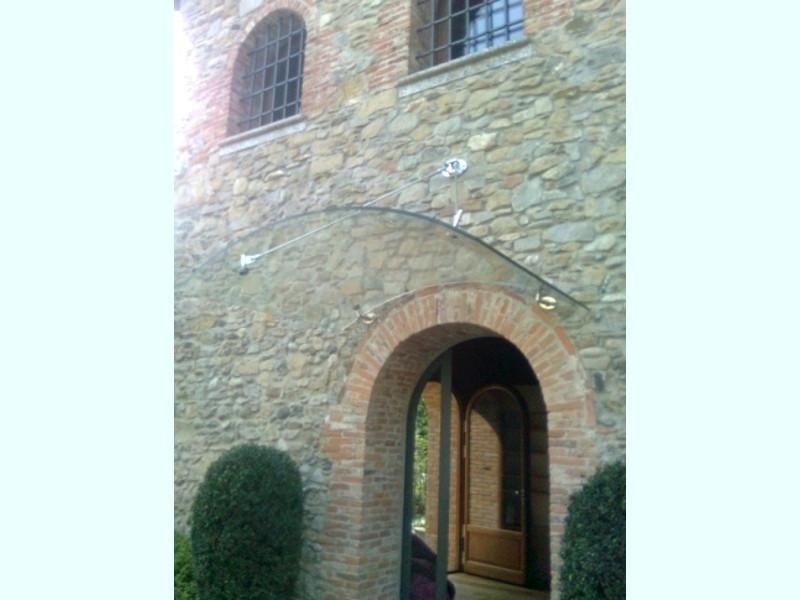 tettoia in vetro edifici antichi