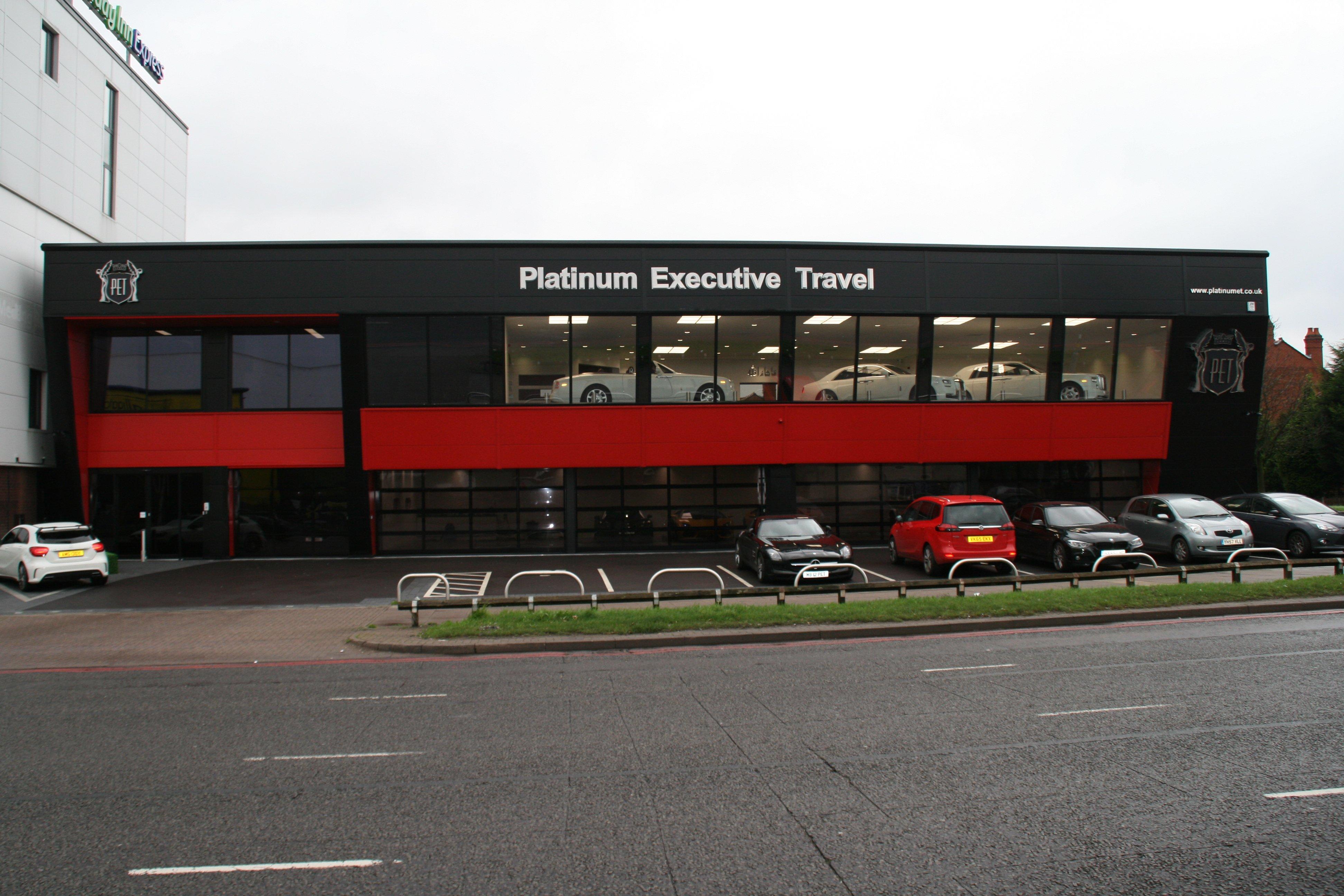Platinum Executive Car Hire development - exterior