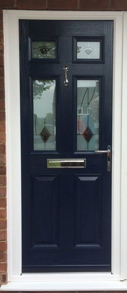 Midnight Blue Composite Door