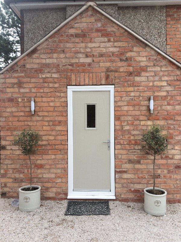 Pottery Composite Door