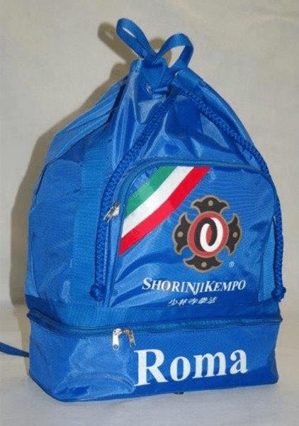 Zaino sportivo nazionale italiana a Roma