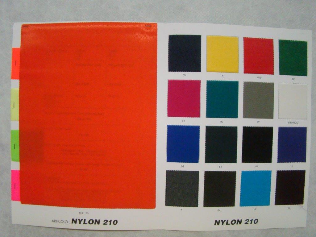 Cartella colore nylon