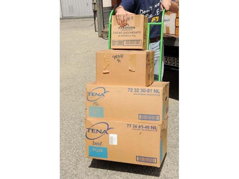 trasporto e imballaggio merce