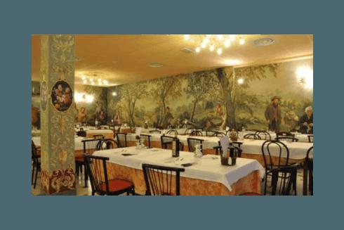 ristorante con cucina romagnola immerso nel verde