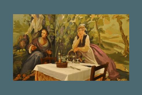 ristorante con ricette della cucina tipica romagnola