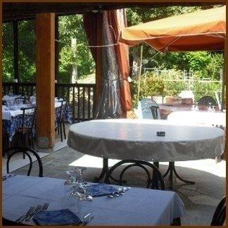 ristorante verandato