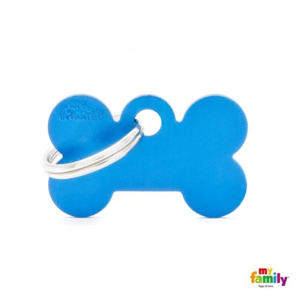 medaglietta azzurro