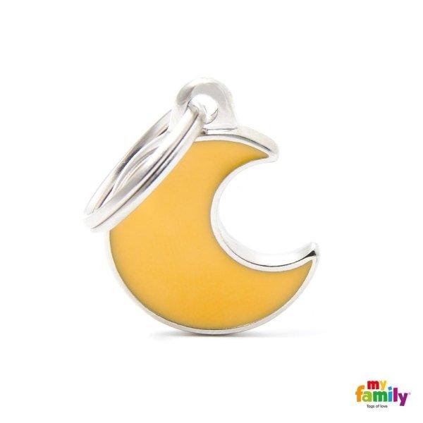 portachiave con luna