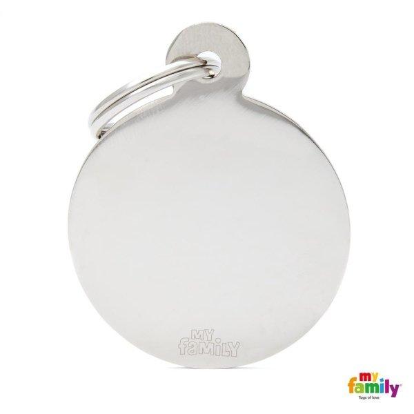 medaglietta bianco chiaro