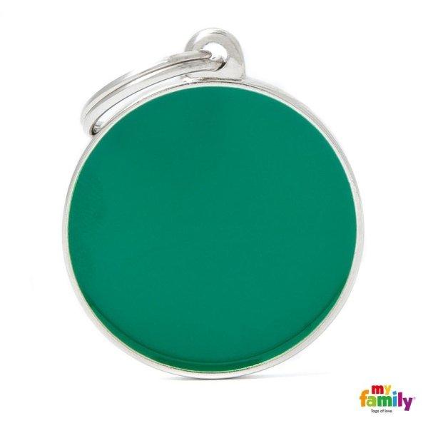 ciondolo verde