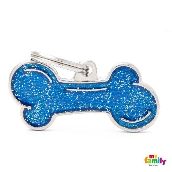 porta chiave azzurro